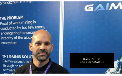 Calvin Adamus, Chief Product Officer of Gaimin.io talks about his passion for blockchain and gaming
