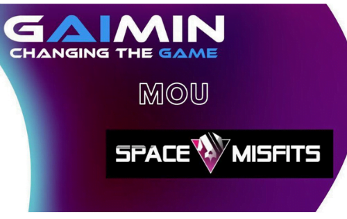 Signing of a Memorandum of Understanding between Gaimin.io & Space Misfits