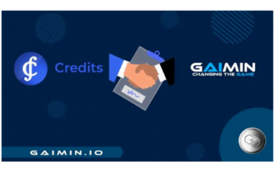 Credits.com and Gaimin.io Team Up to Change the Gaming Industry